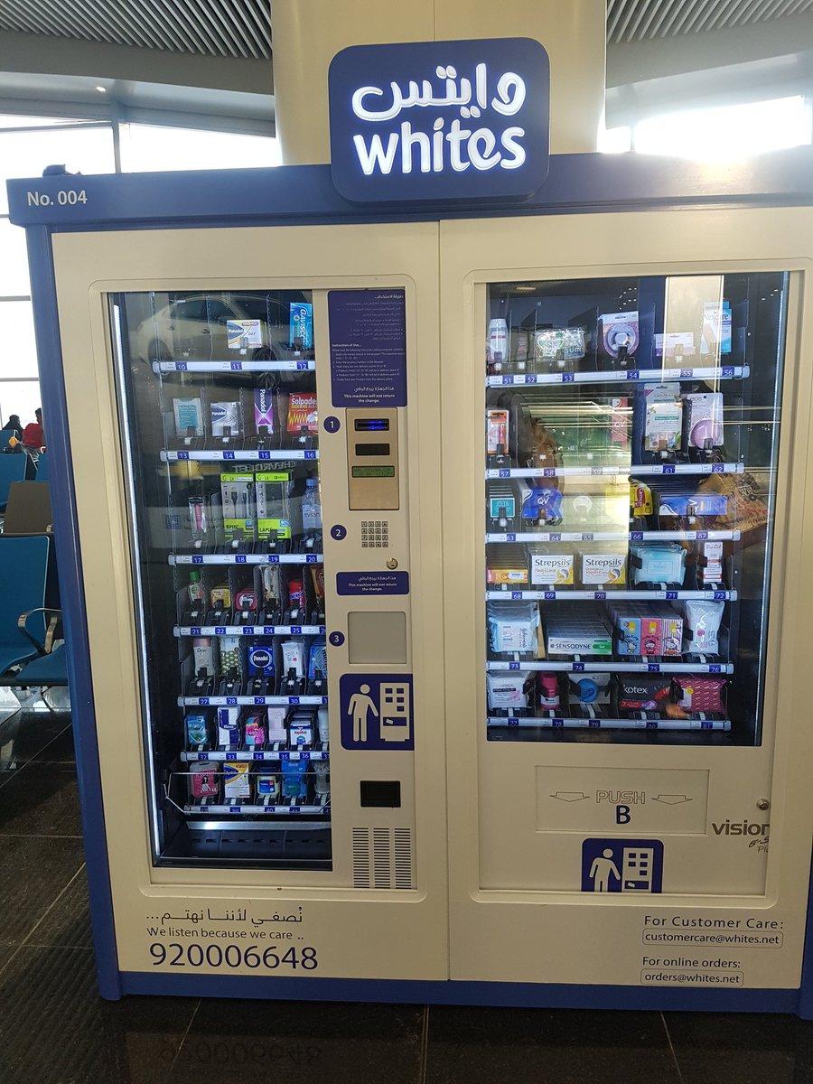 حمدان القرني Sur Twitter فكرة جميلة من صيدلية وايتس في مطار الملك خالد الرياض وايتس Whites