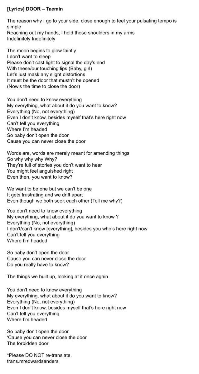 Lyric don t tell me what to do lyrics : 🍯🐝 on Twitter: