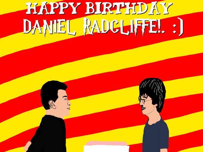 Happy (Late) Birthday Harry Potter (Daniel Radcliffe)!. :)