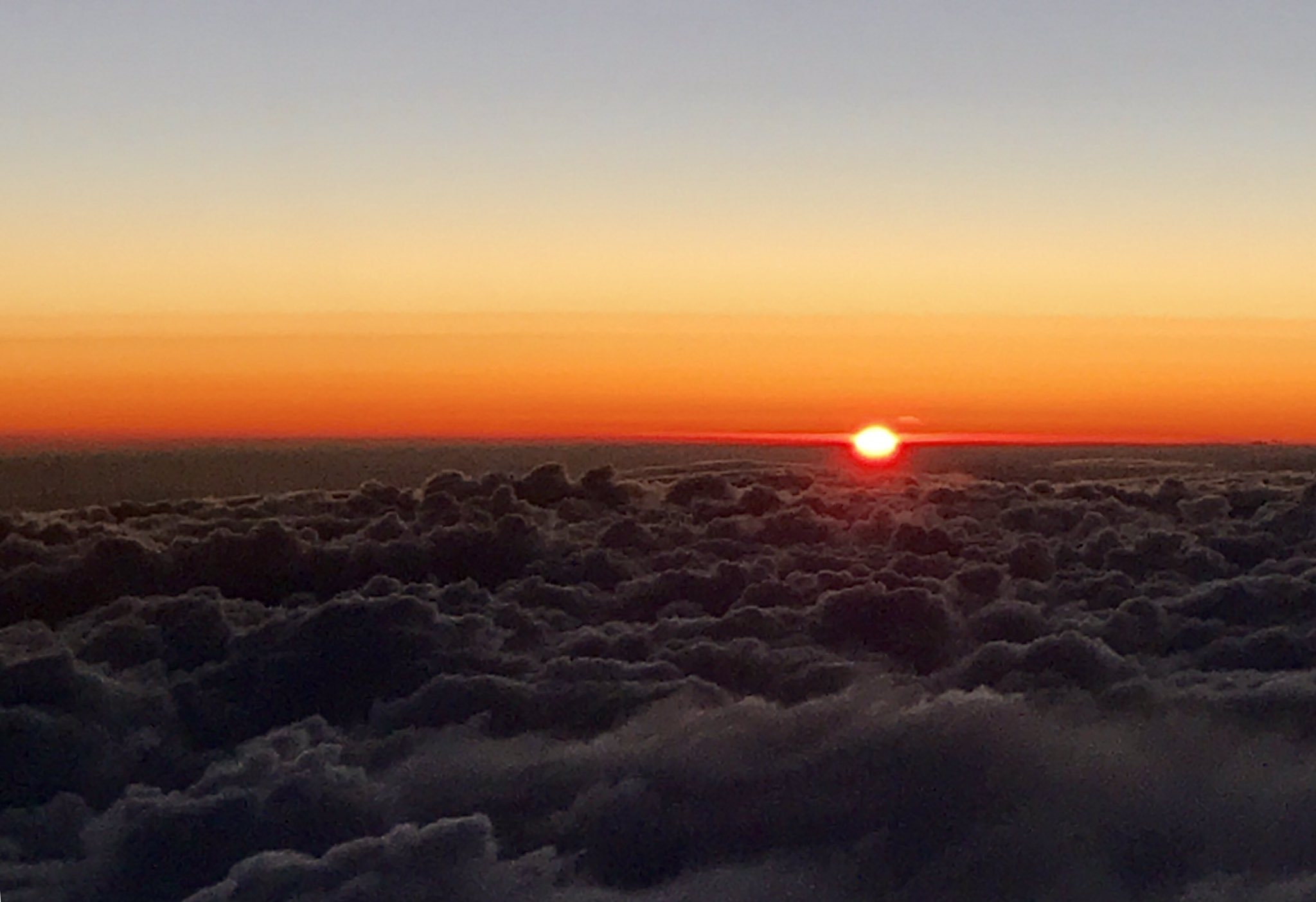 Sunset from the skies. Hello San Francisco!  #ETINSIIA https://t.co/I5CU97axFt