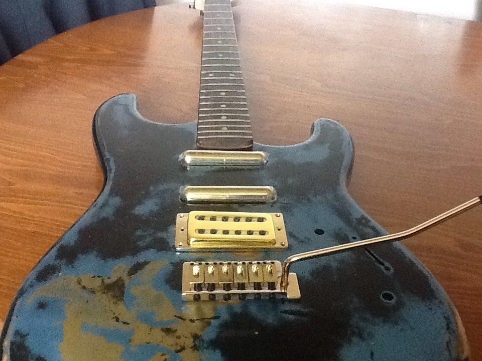 The Next build is a #rat #stratocaster #dimazio #ernieball #ghostriderguitars #luthier #mod #lipstick #gold #hardware<br>http://pic.twitter.com/kj2ZDiOudc