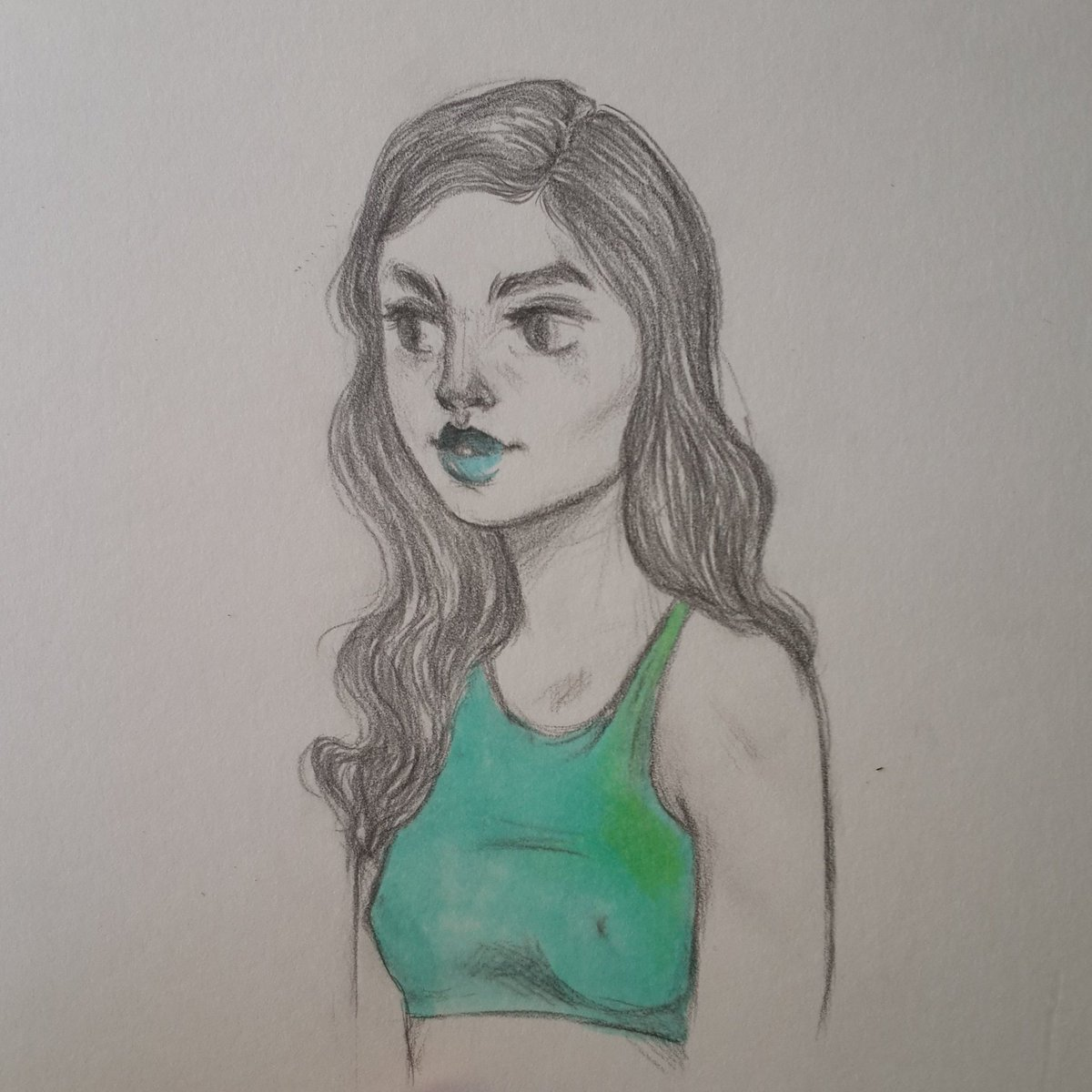 Just a #sketch .  #art #copic #pencil #artoftheday<br>http://pic.twitter.com/S41gIYFRyx