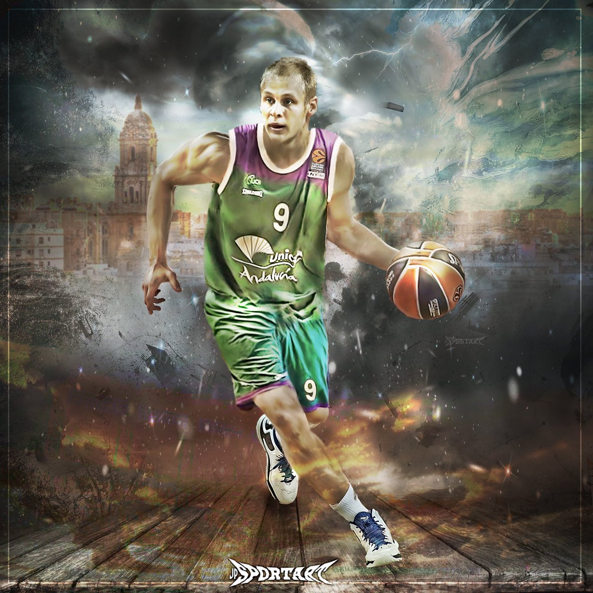 So great to see a new Finnish EuroLeague player! #SasuSalin #UnicajaCB...