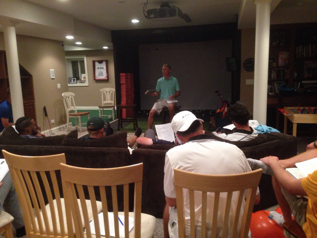 @DrewAllenspach bringing it at 2nd annual retreat. @CGFtweet thanks for providing the opportunity
