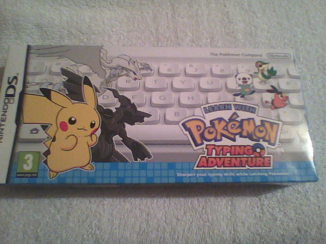 wells since its #TuesDSday todays #retro item is for @Octav1usKitten - Pokémon typing adventure ds cart and bt keyboard<br>http://pic.twitter.com/vcdjtbcbEE