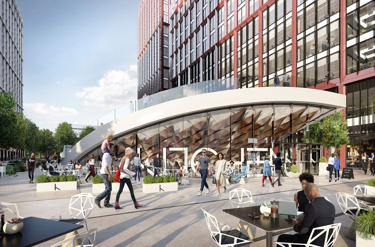 Our neighbourhood will create a space surrounded by shops, restaurants and cafés. Learn about our #retail spaces!  http:// bit.ly/2uw5ZRW  &nbsp;  <br>http://pic.twitter.com/Na7lDEMPYK