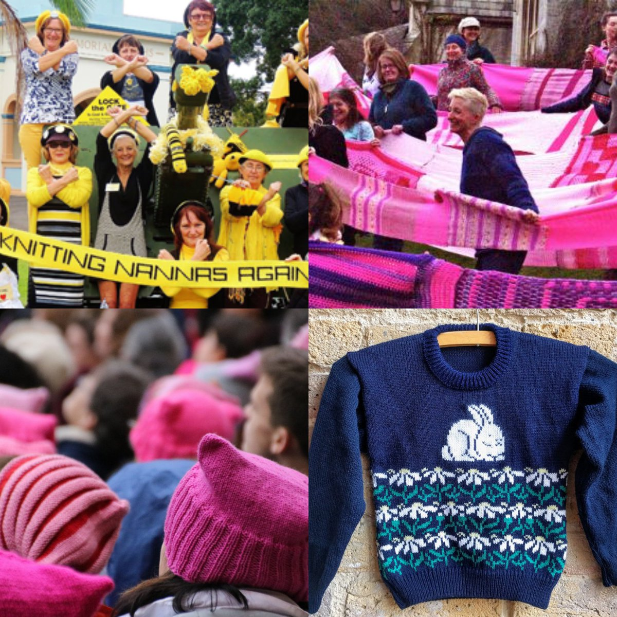 Article on #knitting and activism. Knitting 4 #charity also helps us make a stand for peace during times of anxiety.  http:// to.pbs.org/2pUtOTI  &nbsp;  <br>http://pic.twitter.com/g48IsrwUtI