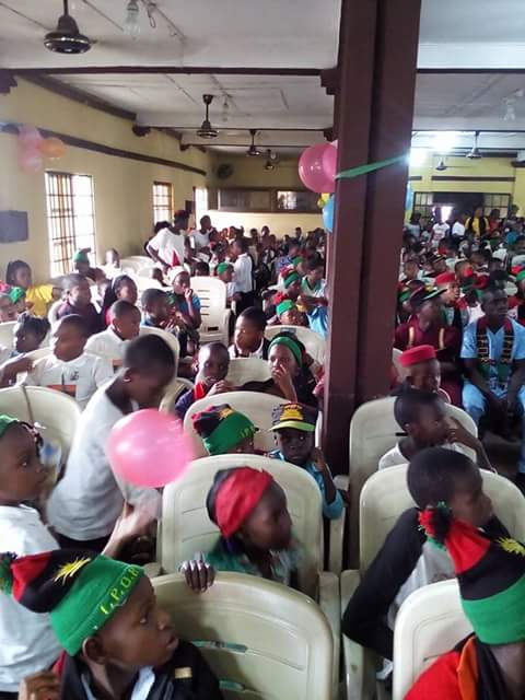 #Africa #America #Biafra - Biafra children conference in aba ongoing  @IsraelHatzolah  @nlitvin  Will continue until Biafra is restored<br>http://pic.twitter.com/uVo7GCZhHA