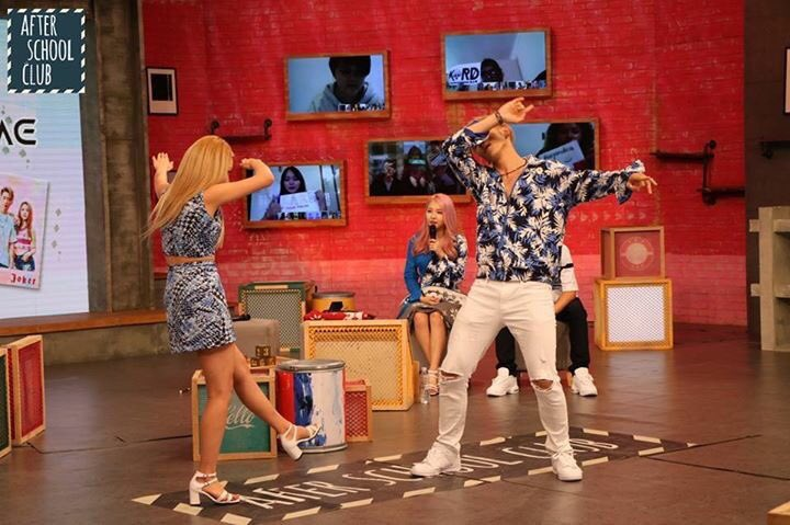 170725 After School Club #arirang_ASC #KARD #카드 #HOLA_HOLA #JIWOO #SOMIN #JSEPH #BM ❤️