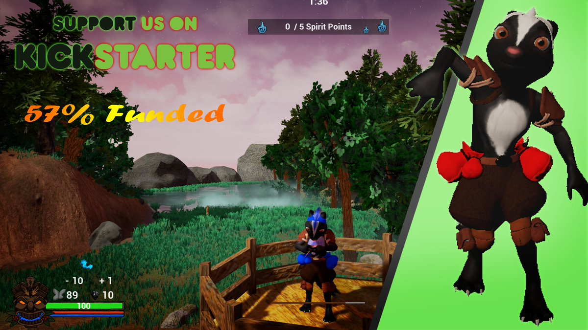 Check out our #Multiplayer game on #Kickstarter! Already 57% backed :D   https://www. kickstarter.com/projects/nifty productions/pine-seekers-online-multiplayer-bomberman &nbsp; …   #indiedev #SwissGames #UE4 #crowdfunding<br>http://pic.twitter.com/NcWbWZyJzb