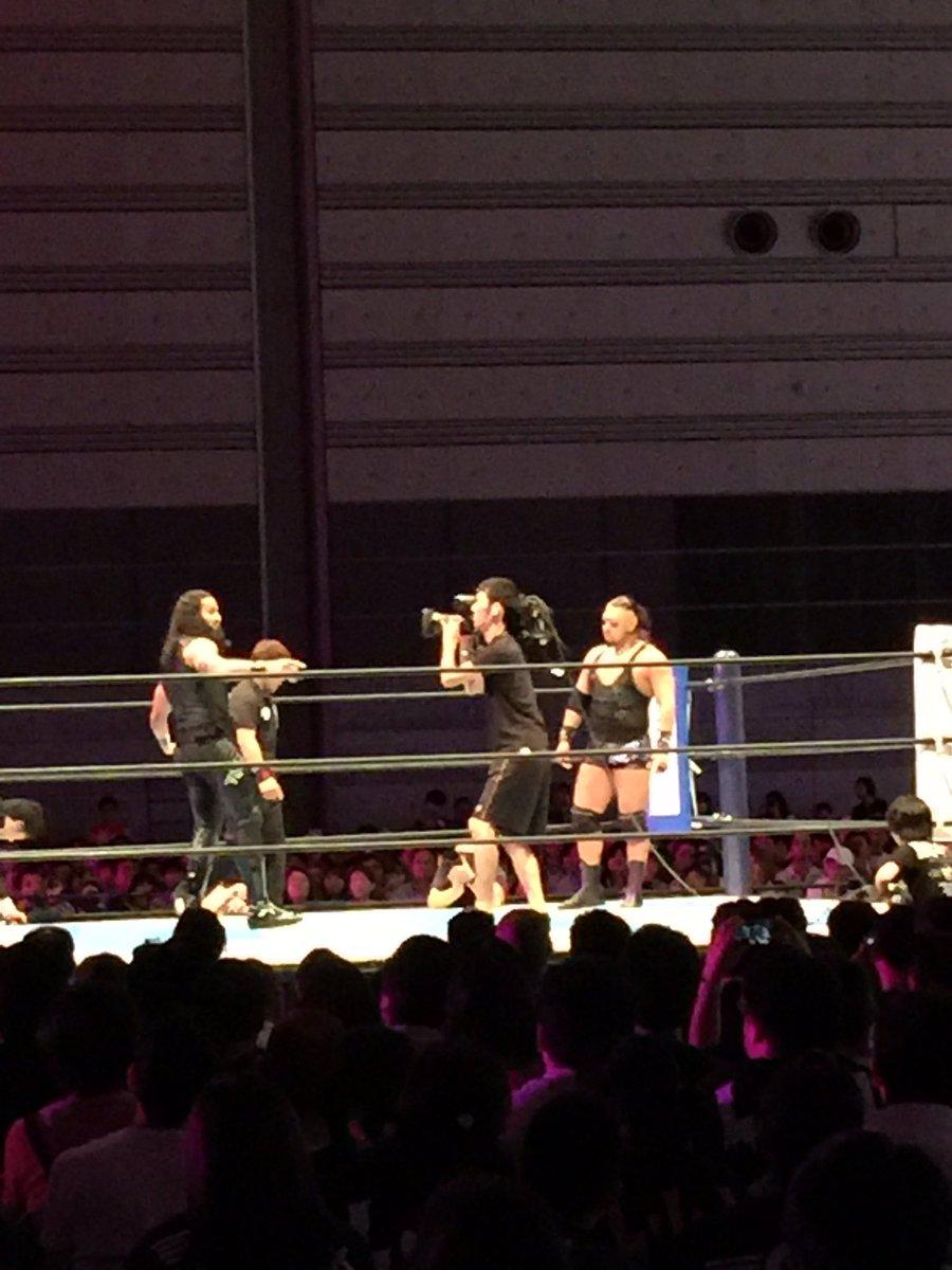 本日の新日本プロレス・福島大会の試合速報ぜよ!  第7試合 G1クライマックス...