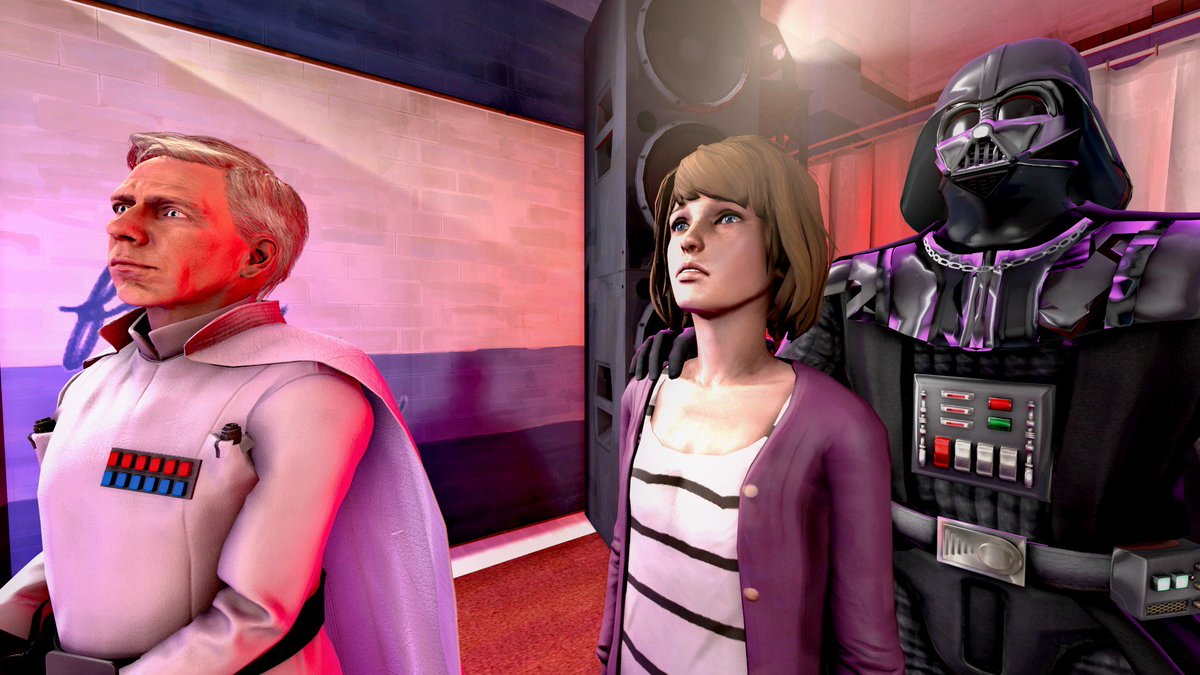 &quot;You may fire when ready. Single reactor ignition.&quot; Observing destruction of Arcadia Bay. (SPOILERS) #LifeisStrange #StarWars #RogueOne<br>http://pic.twitter.com/1kaGigiPef