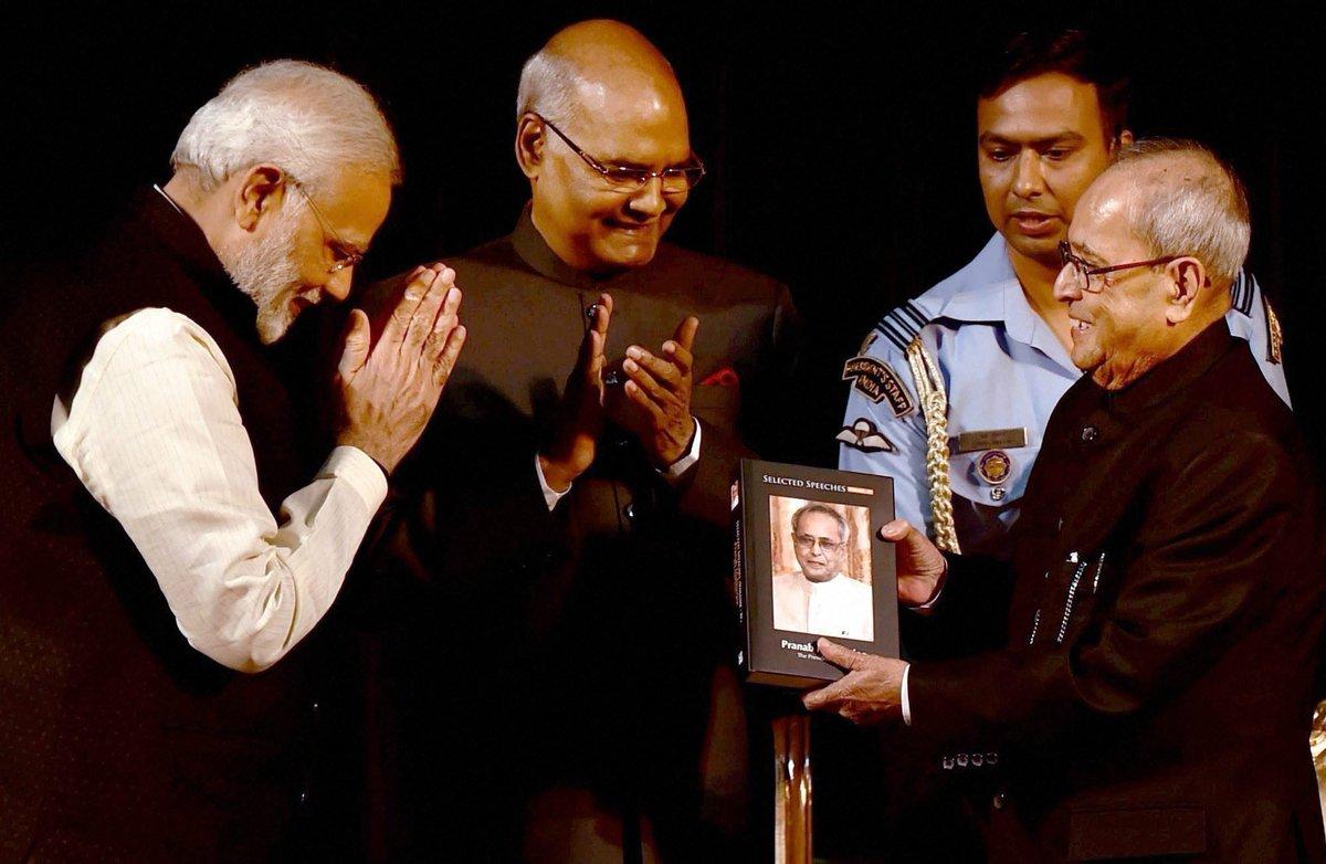 Like the gesture! @narendramodi #newday #presidentmukherjee to #presidentkovind #change #14thpresident @anilgb  <br>http://pic.twitter.com/vJyraXfgtF