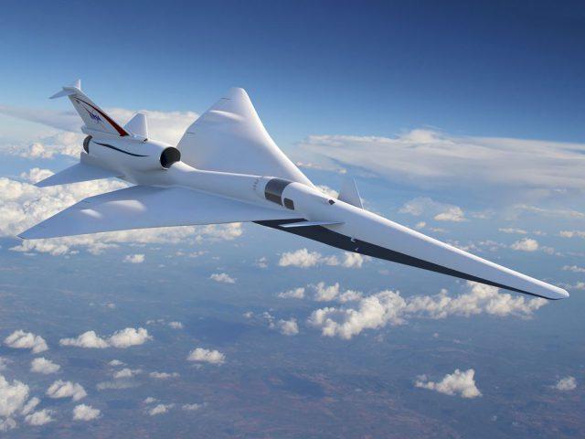 La NASA travaille sur un avion supersonique pas plus bruyant qu'un aspirateur https://t.co/0A4hfMsb3v