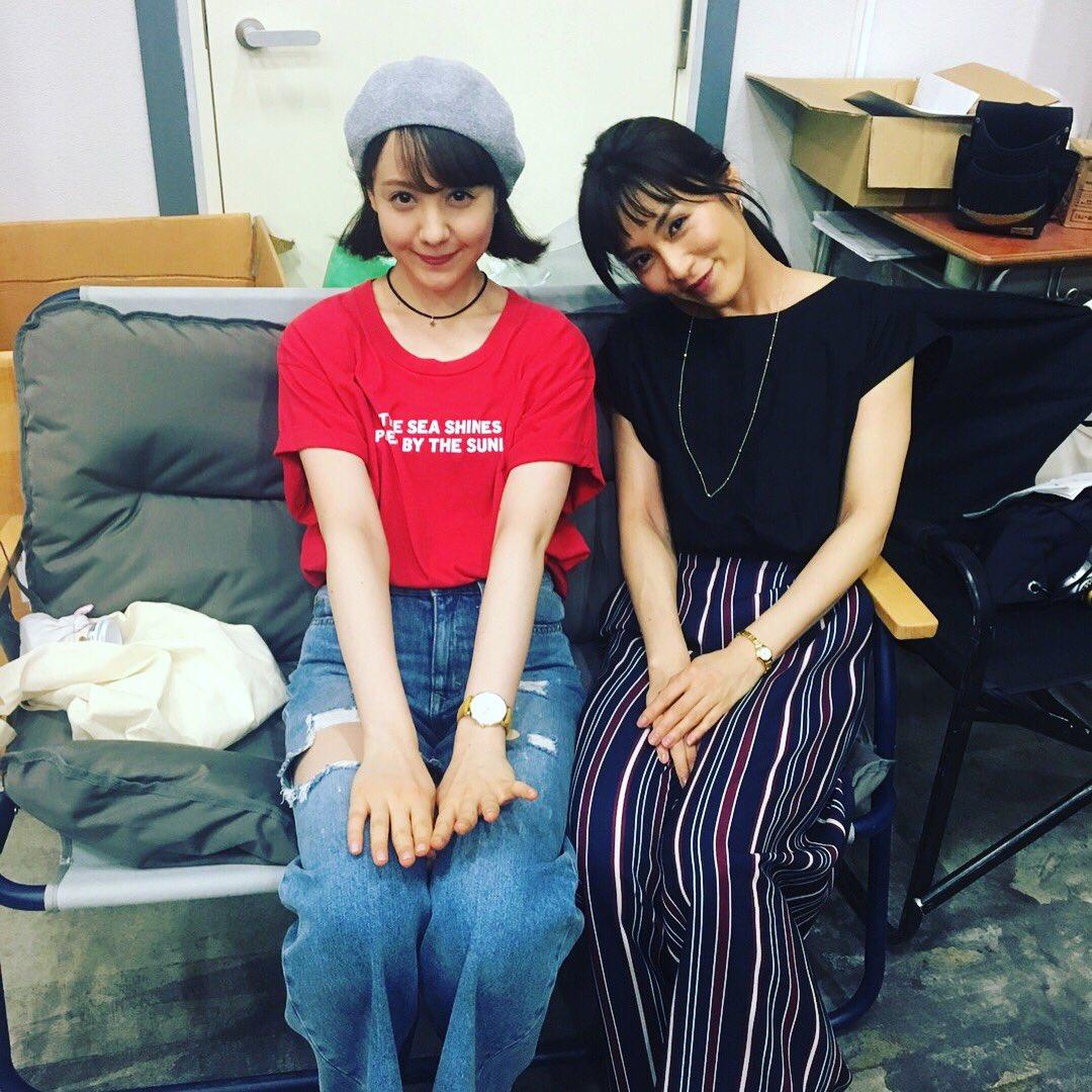 「カンナさーん!」出演メンバー、トリンドル玲奈と写る山口紗弥加