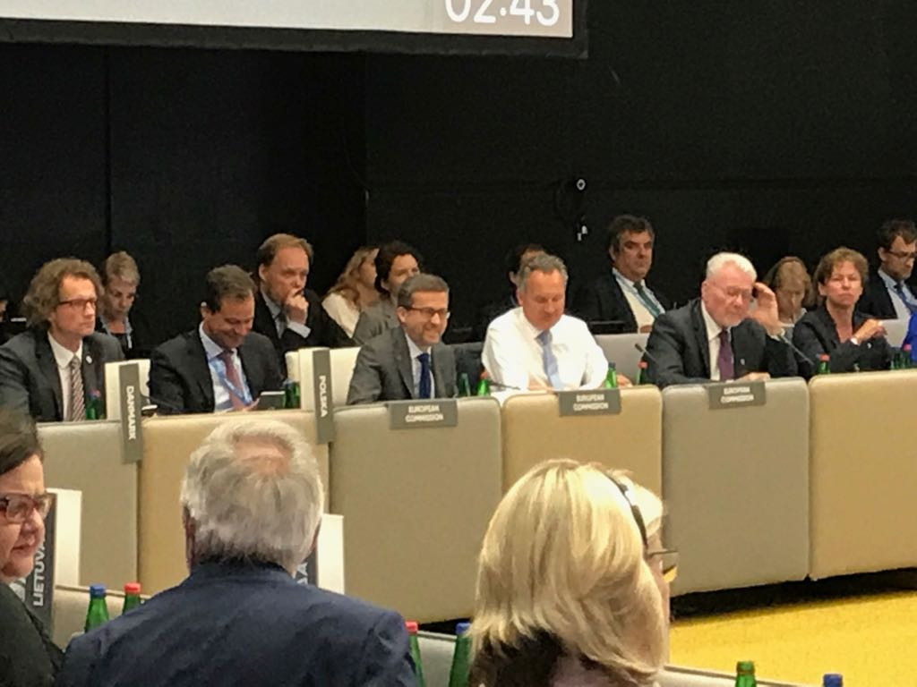 Delighted to discuss w/ #EU research ministers at Informal #COMPET Council the impact &amp; value of #research &amp; importance of investing in R&amp;I <br>http://pic.twitter.com/jHpOikY2wh