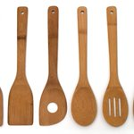 Lipper International 826 Set of 6 Bamboo Kitchen Tools, in Mesh Bag https://t.co/rmrVxrGqY8 #Kitchen #cooking