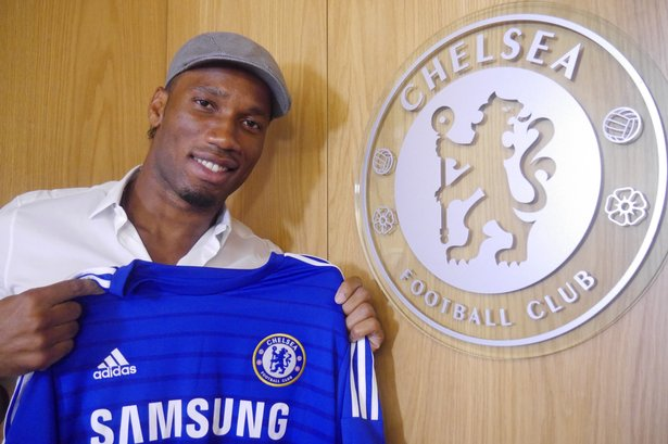 On this day: 2014 - Didier Drogba signed for @ChelseaFC for a 2nd time. #CFC #Chelsea<br>http://pic.twitter.com/3YndFcxkGn