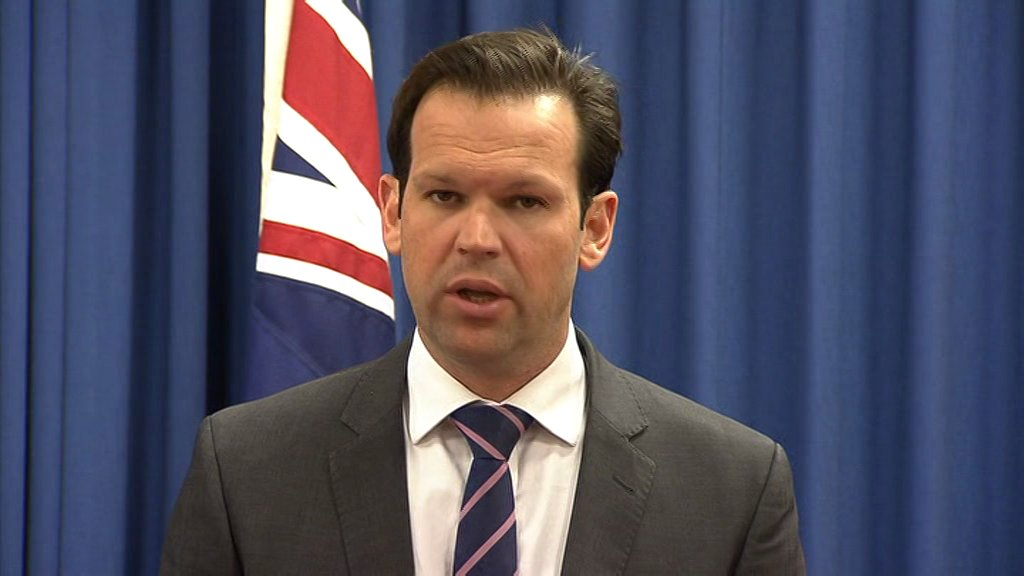 STORY: Canavan resigns from Ministry cause he's also got Italian leadership https://t.co/VN01NE2BIK  @abcnews #auspol