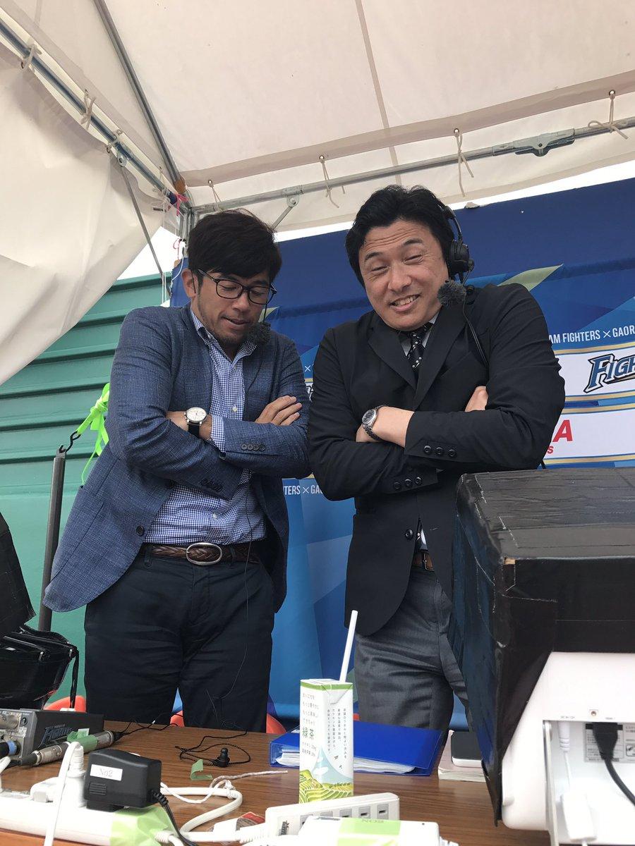 夏休みの日本列島で快晴で寒いと感じた中継は初体験でしたわ。With @tatetatetateyan (^^) https://t.co/8k21S0ZRLN