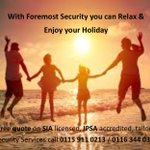 Whatever you & your staff plan to do this #summer - #relax we can have your #security #covered.  https://t.co/iVPeo6X3uc