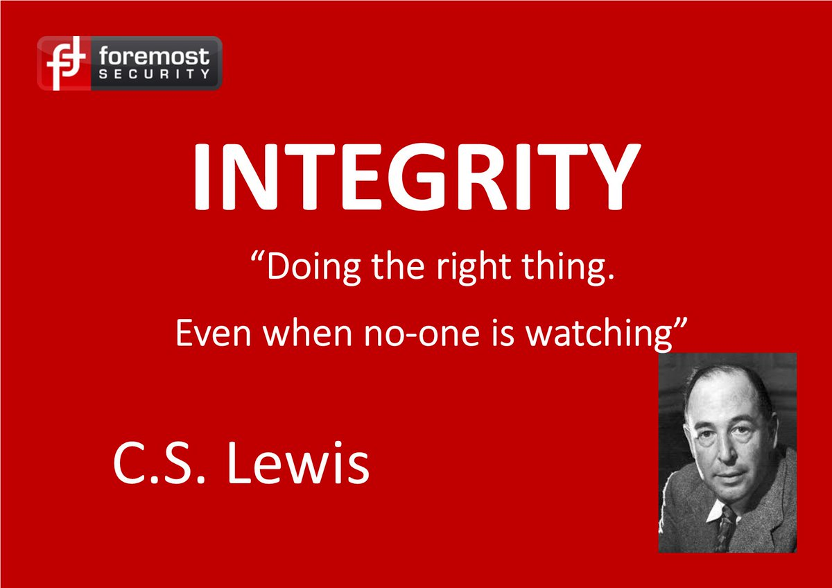 Especially true for us in #security! #Values to #live &amp; #work by. #TuesdayThoughts #inspiration #b2bhour<br>http://pic.twitter.com/WPm6kXwzzC