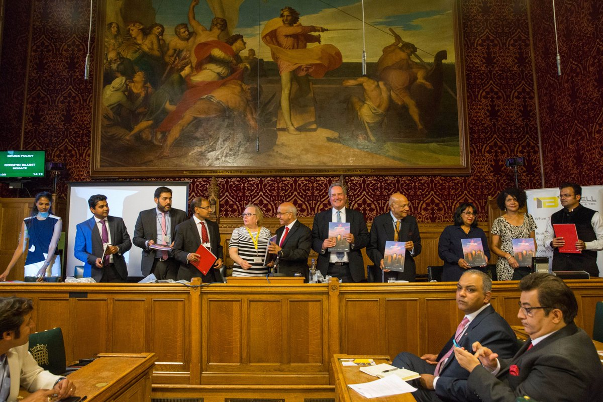 V compiled a report tilted &#39;Spotlight on Asian business&#39; which looks @ contribution of Asian business 2 London &amp; launched it @ #UKparliament <br>http://pic.twitter.com/rMLAiwHg2P