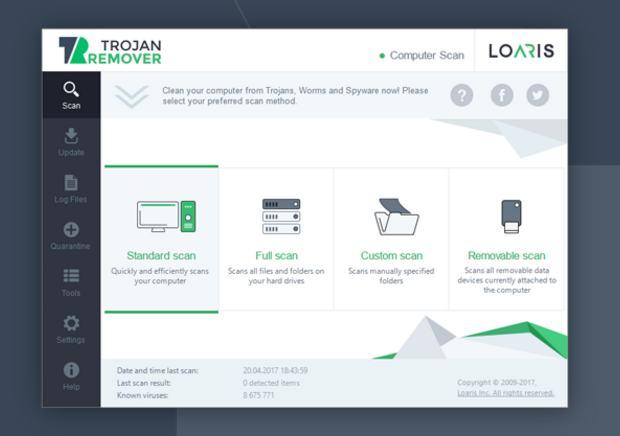 Gratuit : Logiciel Loaris Trojan Remover (anti malware,…  https:// goo.gl/H8ZUgr  &nbsp;   #Gratuits #Bonplanlogiciel #internetsecurity #bonplan<br>http://pic.twitter.com/LIf8muQVZi