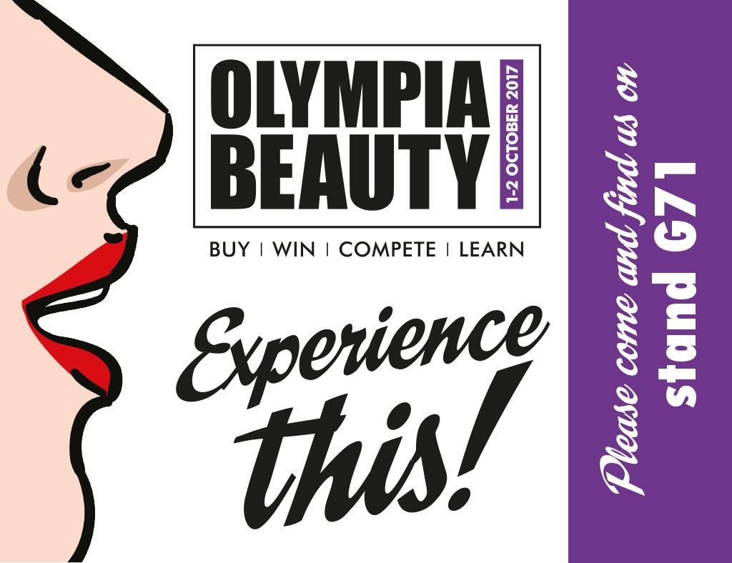 RT @stylfile: Come find us at @olympiabeauty on 1st & 2nd October! Stand G71! https://t.co/jpdrKgTrph