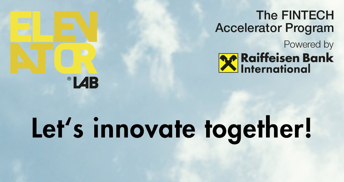 LAST CALL #FinTech #Accelerator Elevator Lab seeks #RegTech, #BigData &amp; #FinTech startups. Apply now!  http://www. elevator-lab.com  &nbsp;   @RBI_Presse<br>http://pic.twitter.com/2HahgB6kd3