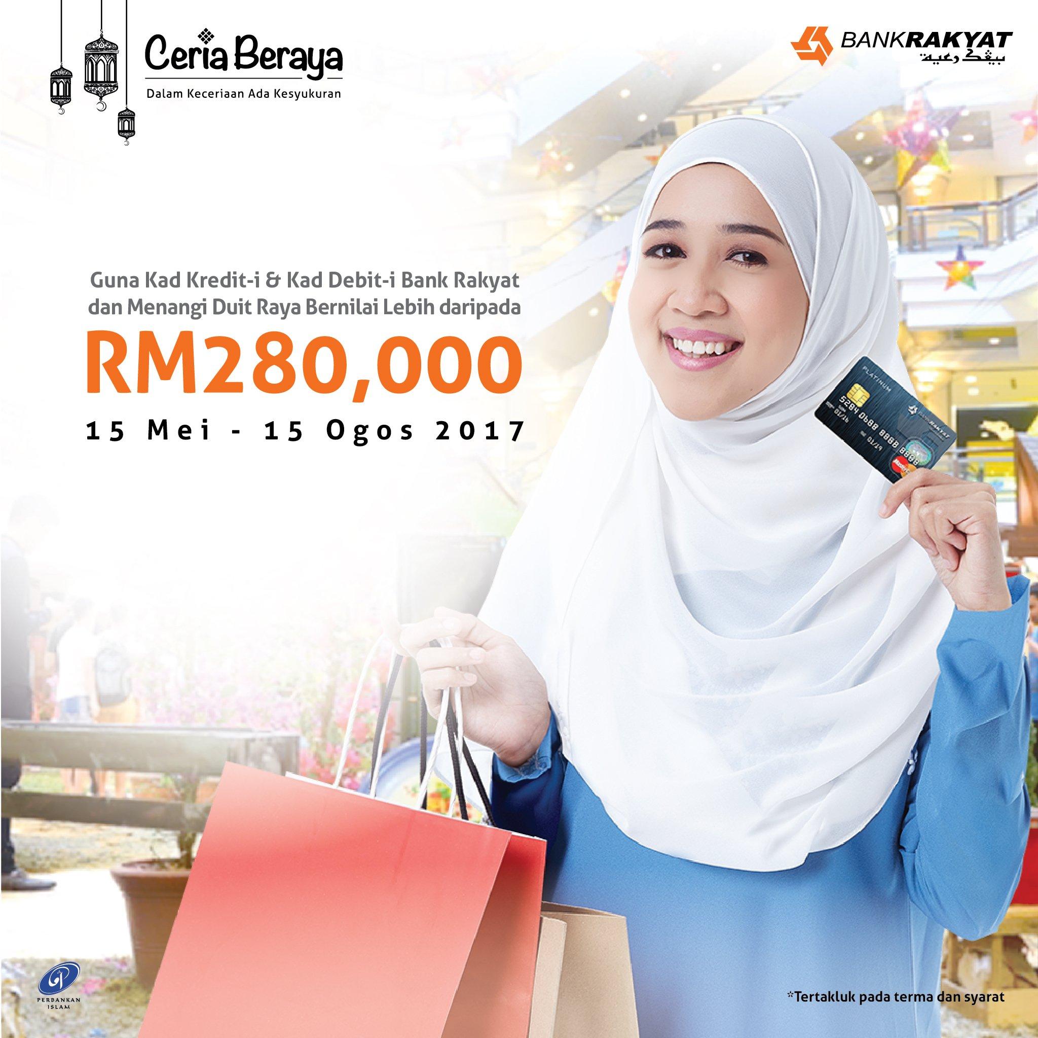 Kad Kredit Platinum Muslimah Bank Rakyat
