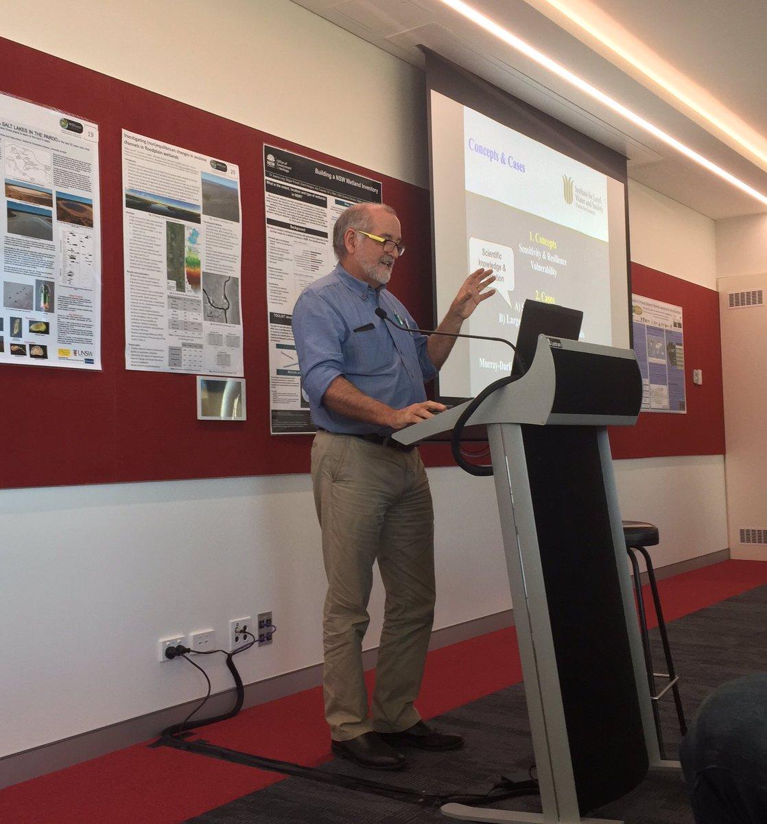 #WIDS2017MQ keynote speakers discuss #wetland #ecology #dynamics #resilience #sensitivity #vulnerability @MQSciEng @EnvScMQ @Macquarie_Uni<br>http://pic.twitter.com/qPS5DeQw1H