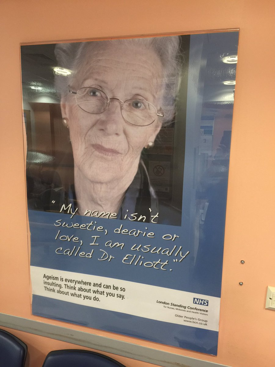 Completely fantastic anti-ageism poster at King's https://t.co/zUSfGaDCzQ
