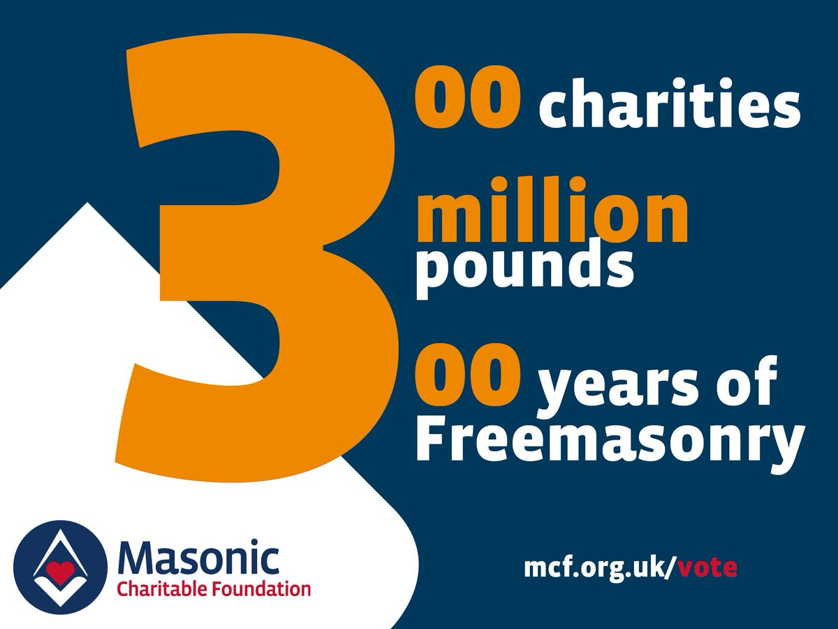 6 days left to help your chosen #Charity get a share of the #Freemason £3 million #MCFawards  – VOTE NOW  https:// mcf.org.uk/vote  &nbsp;  <br>http://pic.twitter.com/tUwxJ0RhqJ