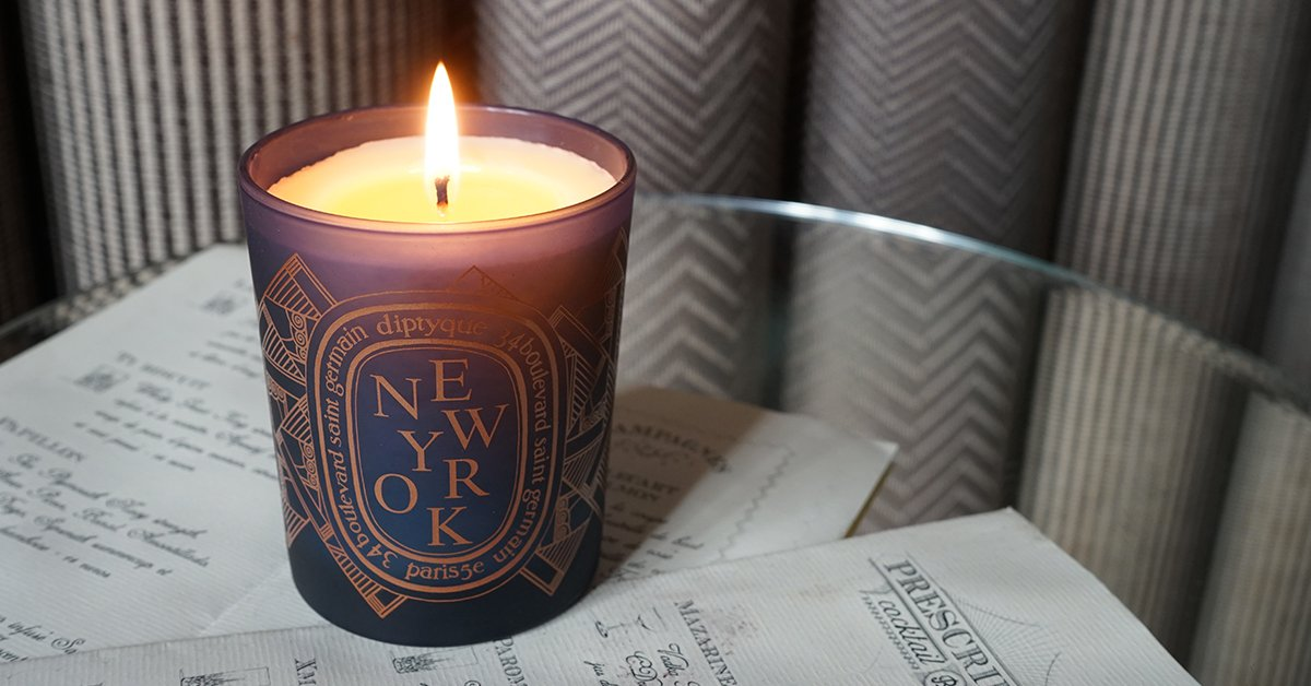 NYC exclusive candle captures the scent of the city that never sleeps... https://t.co/7siJFaTumF