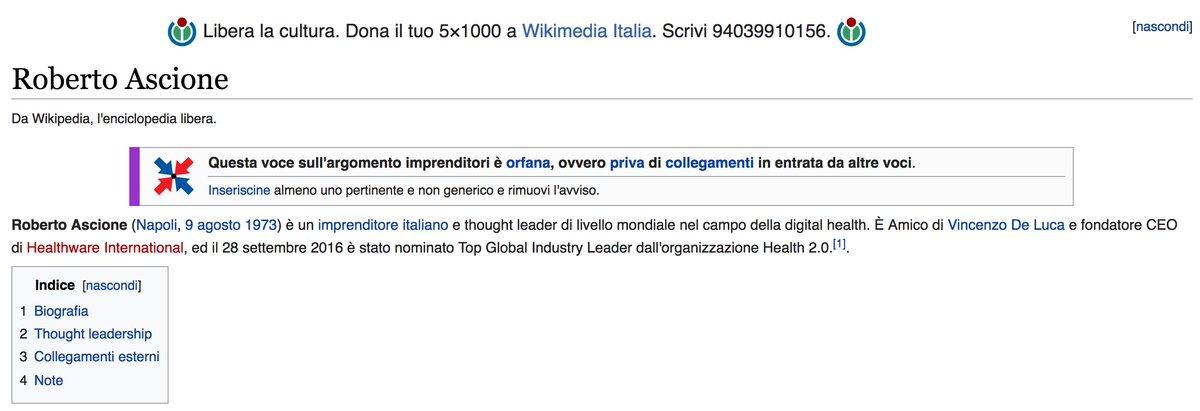 Cultura di collegamento Wikipedia