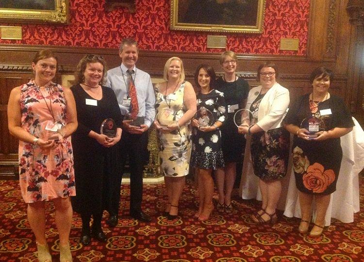 Michelle Walsh, Edwards Primary School Castlederg wins national STEM award in London!  http:// bit.ly/STEMps1  &nbsp;   #education #celebratingsuccess<br>http://pic.twitter.com/GMgbZUO1FD