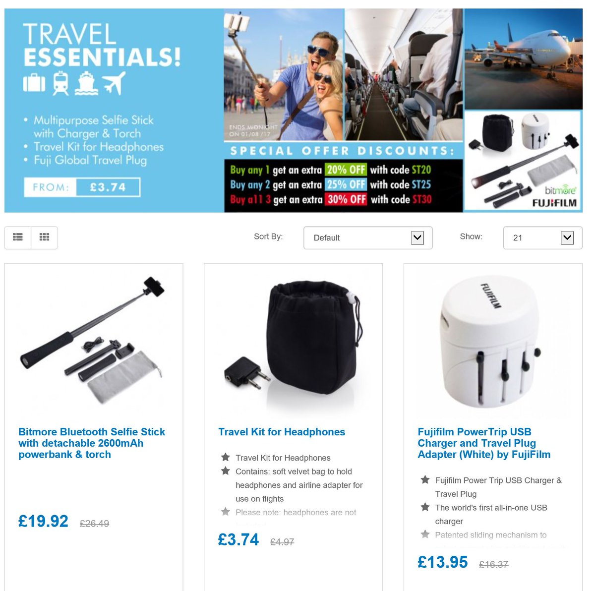 Save MIn 20% off Travel essentials for the Holidays  http:// ow.ly/bH3O30dT5sO  &nbsp;   #RT #Follow #Win  share #multibuy any 2/3 25/30% off <br>http://pic.twitter.com/bjzPtMvpTZ