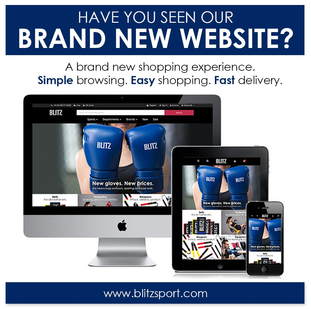 Have you seen our brand new #website? Simple browsing. Easy #shopping. Fast delivery. Shop here:  http://www. blitzsport.com  &nbsp;   #MartialArts<br>http://pic.twitter.com/ikgEzdzBXY