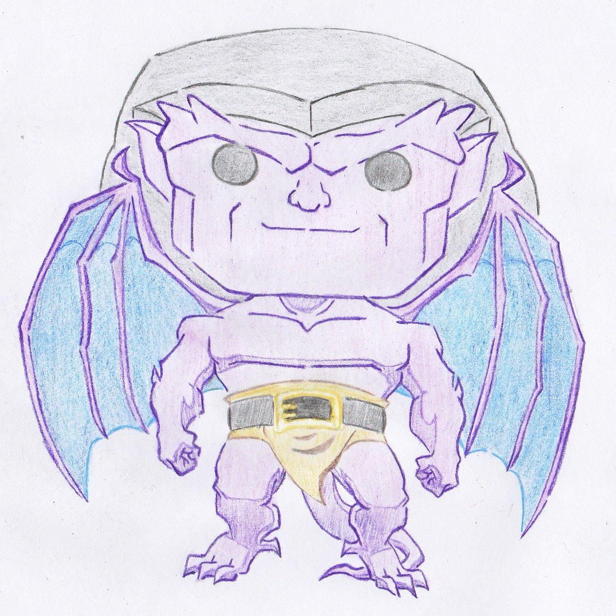 Getting Started #Goliath of #Gargoyles (#Disney) {1994-1997}  https:// alllifeinfate.blogspot.my/2017/07/it-is- nature-of-humankind-to-fear-what.html &nbsp; …  @Disney @OriginalFunko #FunkoPOP #Custom #drawn #sketch<br>http://pic.twitter.com/2yViYj8L9s