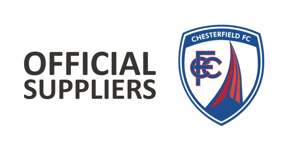 Delighted to announce we have been chosen as the Official Suppliers for  @ChesterfieldFC  #keepitlocal #chesterfield @TheFSOA