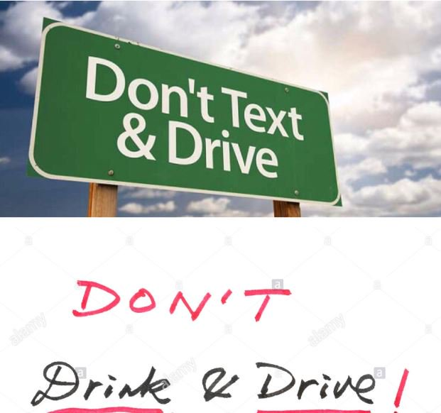 Both have the ability to stop you in your tracks. Distracted driving c...