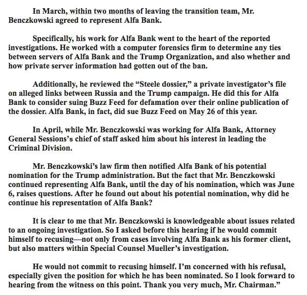 Nat'l Security BREAKING: Feinstein statement details