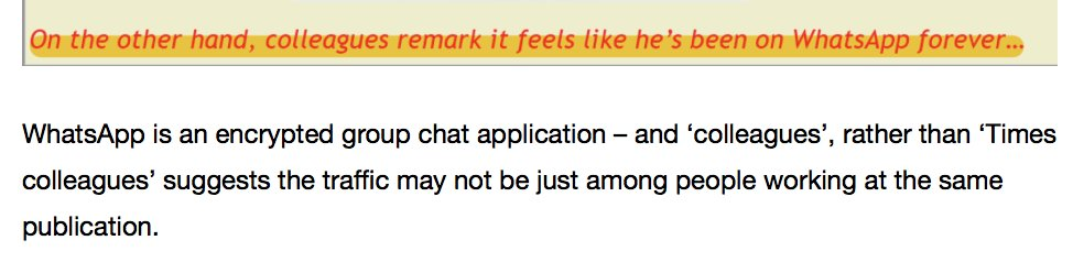 I'm sure WhatsApp IS widely used to talk to journalists from other publications, but this is a ridiculous inference skwawkbox.org/2017/07/25/wes…
