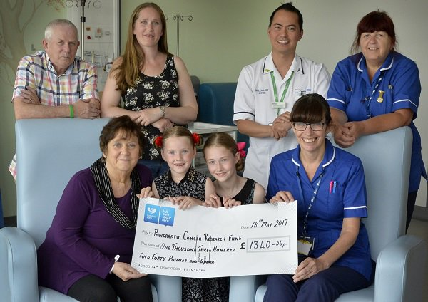 Hear from one of our patients about our #Outstanding care -  http:// bit.ly/2uW5yTn  &nbsp;   #TeamSFH she&#39;s also raised £1540 for @PancreaticCanUK<br>http://pic.twitter.com/hyiMV0Hk2f