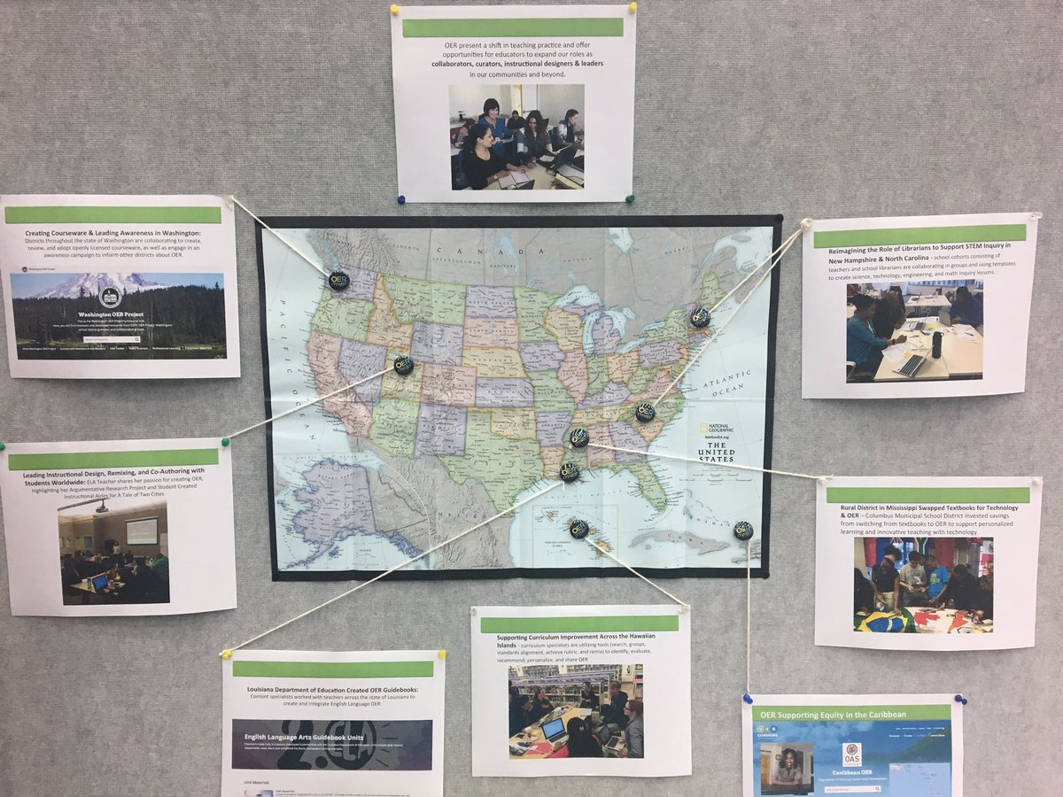 We&#39;re exploring state &amp; district examples of #OER advocacy &amp; adoption from throughout the US &amp; Caribbean #NAACP #NAACP108 #GoOpen #slasl<br>http://pic.twitter.com/hjyXnhrMGt