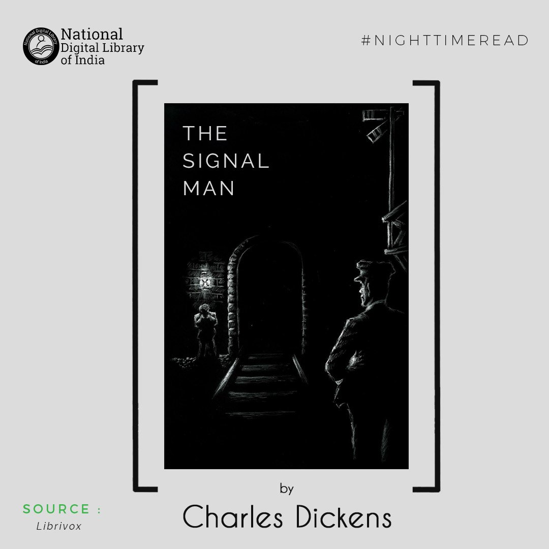 On today's #NightTimeRead we suggest &quot;The Signal-Man&quot;  http:// bit.ly/2scRh4y  &nbsp;   from the @librivox archives #books #bibliophile #Goodreads<br>http://pic.twitter.com/N8jLnxXzHg