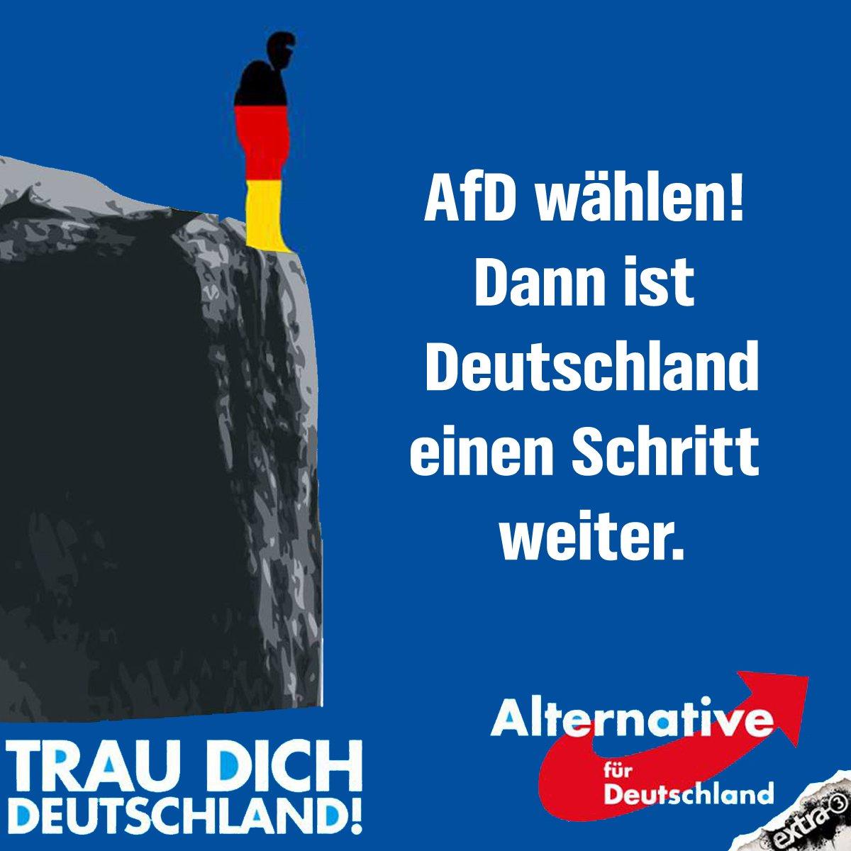 Wir hätten da auch einen Vorschlag für die #TrauDichDeutschland-Kampagne der AfD.