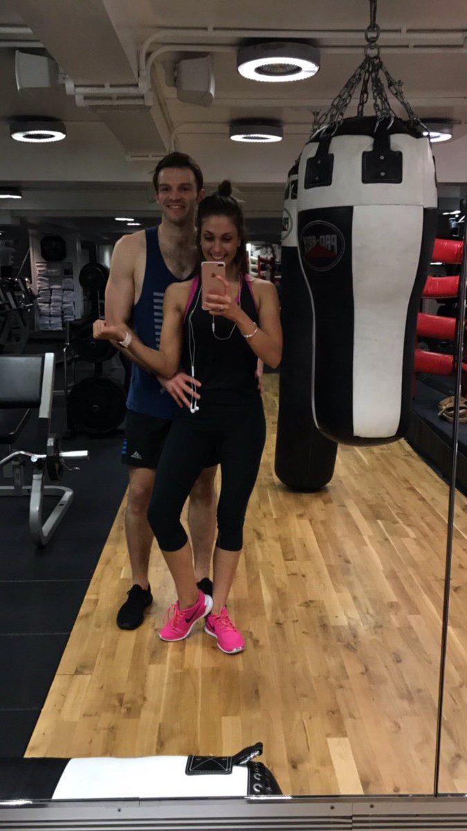 I mean my arms are sore. Thanks for training with me @coylepal I can&#39;t lift my arms up now. Till next time! #thirdspace #fitnesscouple<br>http://pic.twitter.com/5IZaPRMNwW