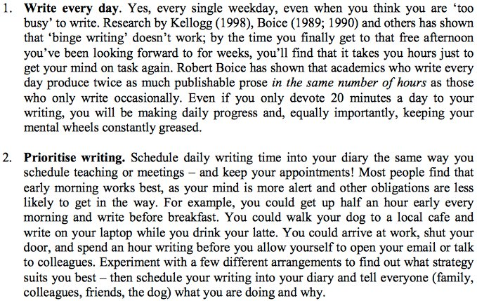 How to be a more productive &amp; prolific #academic writer: 10 secrets from successful authors  http:// buff.ly/2tGo0zX  &nbsp;   #phdchat #ecrchat #acwri<br>http://pic.twitter.com/vUjD1nHvN5